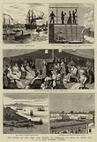 """The Voyage of the Duke and Duchess of Connaught to India on Board the P and O Mail Steamer """"Cathay"""""""