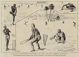 Hindoo Cricketers, Sketches at Hog Island, Bombay Harbour