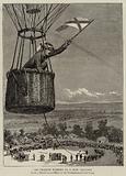 Sir Charles Warren in a War Balloon