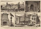 Vanishing London, the Old Convent and Cupola House, Hammersmith