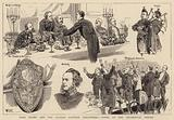 Lord Elcho and the London Scottish Volunteers, Notes at the Regimental Dinner