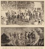 The Cruise of the Royal Cadets, a Visit to the Sulphur Springs, St Lucia, West Indies