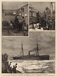 Visit of the Ex-Empress Eugenie to Zululand, the Departure from Southampton