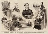 The General Assembly of the Free Church of Scotland, Portrait Sketches in Court during the Robertson-Smith Trial