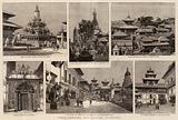 India, Temples and Palaces in Nepaul