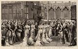 The Royal Marriage at Windsor, the Ceremony in the Private Chapel of the Castle