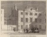Birthplace of Mr WE Gladstone, Rodney Street, Liverpool