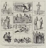 Australia Versus England at Lord's, 21, 22, and 23 July 1884