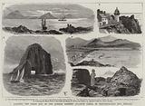 Landing the Shore End of the Gordon Bennett Atlantic Cable, in Ballinskelligs Bay, Ireland