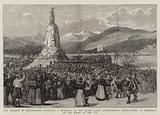 The Marquis of Breadalbane unveiling a Memorial to the Black Watch (Forty-Second Highlanders) …