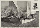 Capture of an Arab Slave Dhow and Fifty-Three Slaves near Zanzibar, by Lieutenant F F Fegen, RN