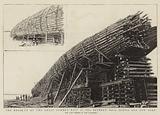 The Break-up of the Great Lumber Raft at Sea between Nova Scotia and New York