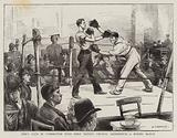 Men's Club in Connection with Holy Trinity Church, Shoreditch, a Boxing Match
