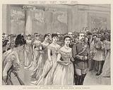 The Festivities at Athens in Honour of the Greek Royal Wedding