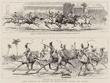 The Prince of Wales in Egypt, the Races at Cairo