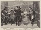 """""""The Gondoliers"""" at the Savoy Theatre, the Quintette in the First Act"""