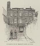 Entrance to St Martin's Lane Academy