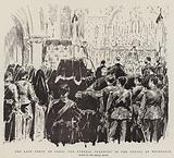 The Late Comte de Paris, the Funeral Ceremony in the Chapel at Weybridge