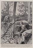 Mr Winston Churchill's Escape from Pretoria, waiting for the Night to come