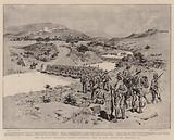 Sir Charles Warren's Force crossing the Tugela River on 17 January