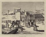 The Ashantee War, Arrival of the Governor at Cape Coast Castle