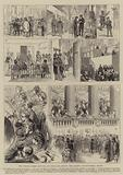 The French Crisis, Sketches at Versailles during the Recent Constitutional Debate