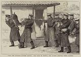 With the Russians, outside Plevna, the Land of Plenty, the Guards drawing their Rations