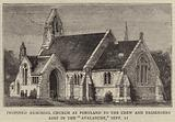 """Proposed Memorial Church at Portland to the Crew and Passengers lost in the """"Avalanche,"""" 11 September"""