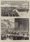 The Death of King Victor Emmanuel