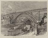 New Iron Bridge over the River Douro at Oporto