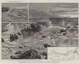 """The Wreck of the Channel Steamer """"Victoria"""" near Dieppe"""