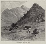 Barberton in June 1885