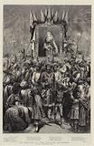 The Jubilee in the East, an Allegory, Victoria, Empress of India