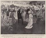 The First Ball of the Season at Government House, Sydney, in the Garden between the Dances