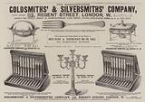 Advertisement, Goldsmiths' and Silversmiths' Company
