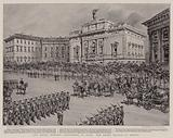 The Royal Wedding Festivities in Rome, the Grand Review of Troops