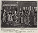 The Sultan of Turkey giving an Audience to the British Ambassador a Hundred Years ago