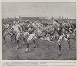 The International Rugby Football Match at Dublin, a Rush by the Irish Forwards