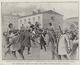 The Deroulede Fiasco in Paris, the Scene outside Reuilly Barracks