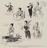 In Aid of British Nurses, Sketches at the Cafe Chantant at the Hotel Cecil