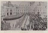 """""""God save the Queen"""", the Serenade in the Quadrangle at Windsor Castle on Her Majesty's Eightieth Birthday"""