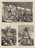 Scenes of Franco-Prussian War