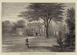 Camden Place, Chiselhurst, the Residence of the Ex-Empress Eugenie