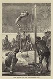 Pole Leaping at the Agricultural Hall