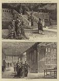 The Visit of the Prince and Princess of Wales to Haddon Hall