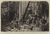 The Slavery Question in Eastern Africa, Negroes taken from a Captured Dhow in a State of Starvation