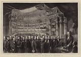 The French National Assembly in the Theatre at Versailles, 1873