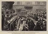 The Trial of the Tichborne Claimant, General View of the Court during the Examination of Miss Mary Ann Loder