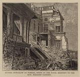Ruined Bungalow at Bombay, Scene of the Fatal Accident to the Honourable Narayen Vasudeo
