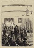 Presentation of a Sword to Sir Garnet Wolseley by the City Corporation